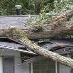 Repair of storm damage roof