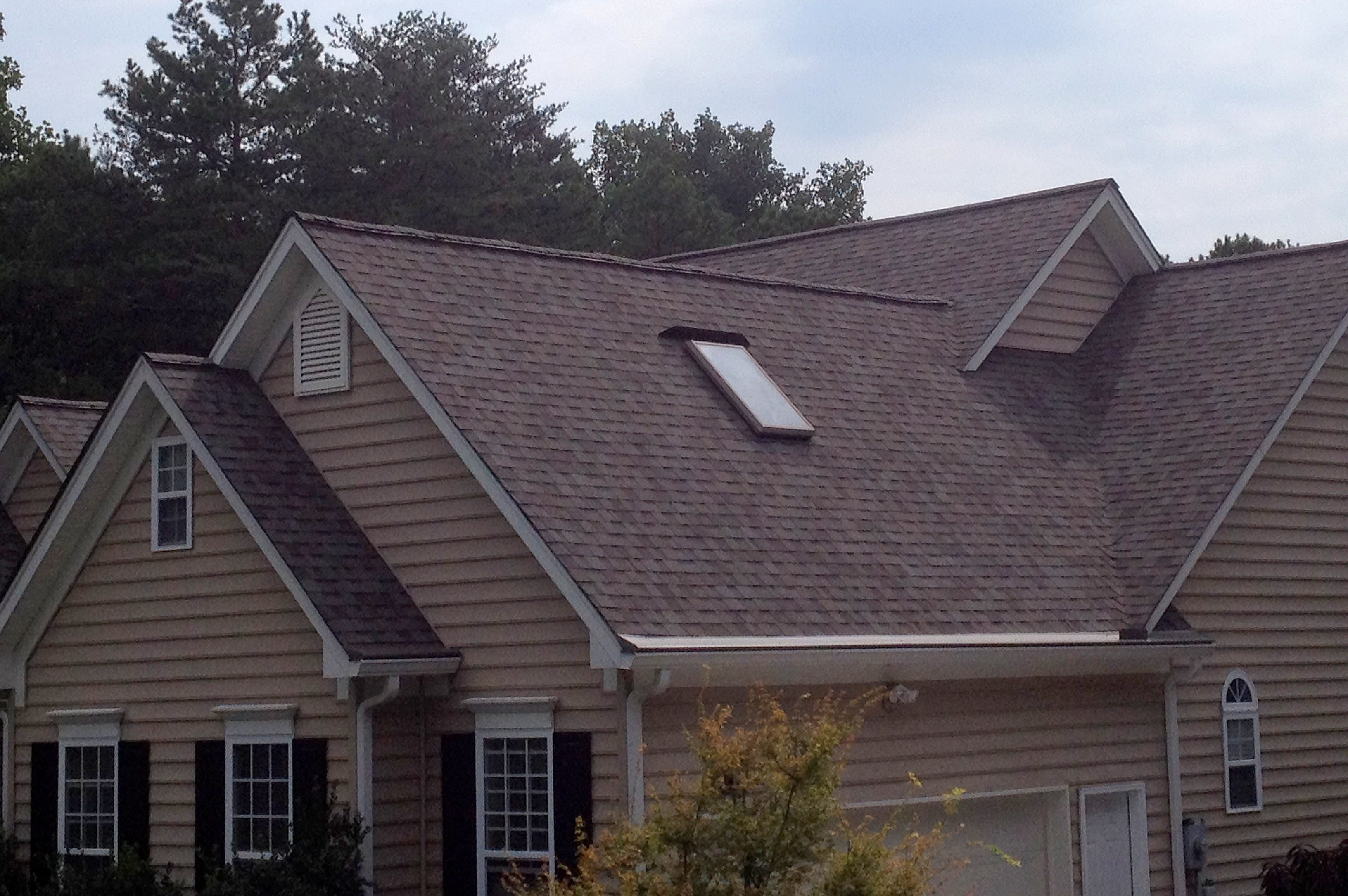 newly replaced roof