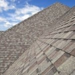 Newly repaired Shingle Roof