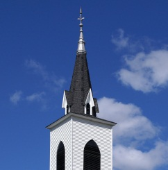 church steeple roof
