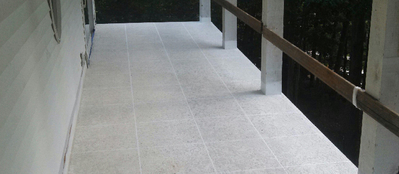 Deck Waterproofing in Hickory, North Carolina