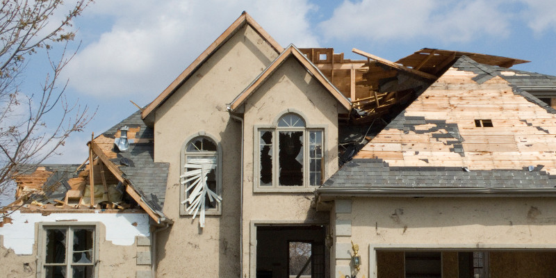 How to Spot Wind Damaged Roofs