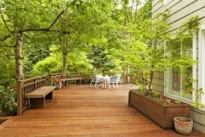 Waterproofing decks is universally recommended